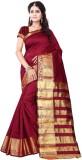 Sai Fabrics Striped Bandhani Silk Sari (...