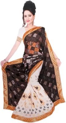 Aashi Embellished, Embriodered Bollywood Net, Georgette Sari