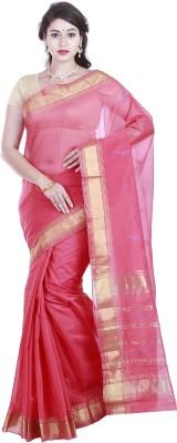 BrindavanSilks Self Design Daily Wear Polycotton Sari