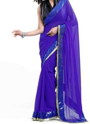 Shaurya Trendz Plain Fashion Silk Sari
