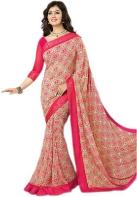 Brand Villa Plain Bollywood Georgette Sari