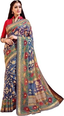 Amayra Fashions Printed Fashion Art Silk Sari