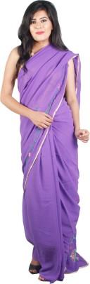 Ak designs Solid Bollywood Cotton Sari
