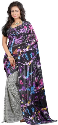 Shree Krishna Enterprise Printed Daily Wear Georgette Sari