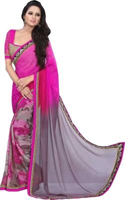 Gaurangi Creations Self Design Fashion Chiffon Sari