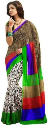 Avadh Fashion Printed Bhagalpuri Silk Cotton Blend Sari
