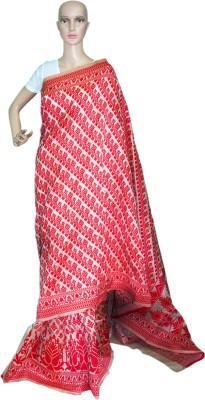 Prateeti Self Design Fashion Handloom Jute Sari
