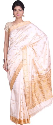 Indian Artizans Woven Assam Silk Pure Silk Sari