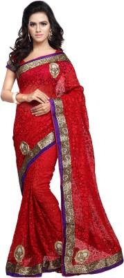 Aruna Sarees Embriodered Fashion Handloom Brasso Sari