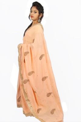 Creativz Hand Embriodered Bollywood Georgette Sari