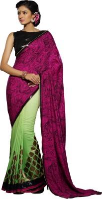 Crafts N Culture Woven Fashion Viscose Sari