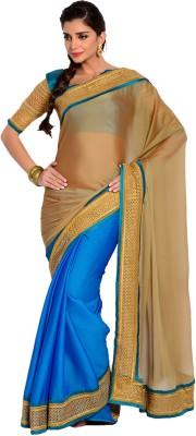 Velli Self Design Bollywood Silk Sari
