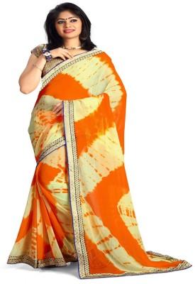 Sonakshi Sarees Geometric Print Fashion Pure Georgette Sari