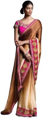 Laxmipati Embriodered Fashion Satin Sari