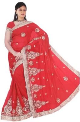 Arohee Embellished, Embriodered Bollywood Georgette Sari