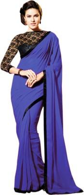 Rashmi Creation Self Design Fashion Georgette Sari