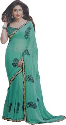 Sahaj Embriodered Fashion Chiffon Sari