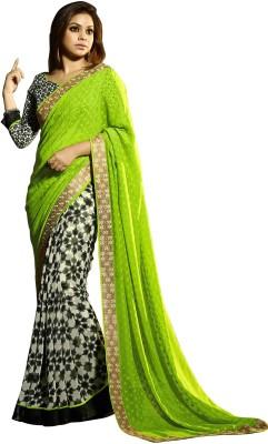 Vaishali Embellished Fashion Georgette Sari