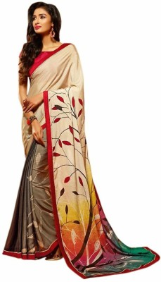 Royal Desi Apparel Printed Fashion Jacquard Sari