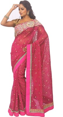 Zorbain Style Self Design Fashion Tissue Sari