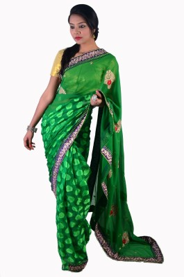 Ak designs Self Design Fashion Handloom Cotton Sari