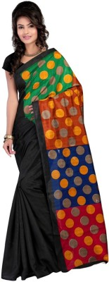 Wind Feb Printed Bhagalpuri Handloom Art Silk Sari