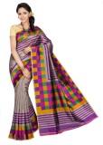 Mathura Printed Paithani Cotton Saree (M...