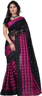 Venu E-Commerce Pvt.Ltd. Plain Fashion Silk Cotton Blend Sari