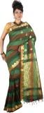 JCN Self Design Mysore Cotton Saree (Lig...
