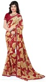 Fancy Sarees Printed Bollywood Georgette...