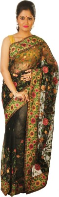 Sayani Boutique Self Design Fashion Handloom Net Sari