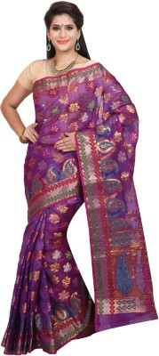 JCN Woven Banarasi Jacquard Sari
