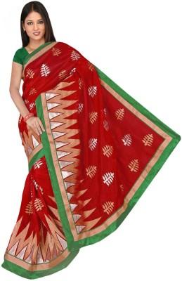 Randeria Fabrics Self Design Bhagalpuri Silk Sari