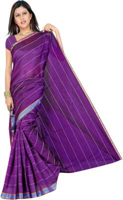 Indian E Fashion Plain Chanderi Polycotton Sari
