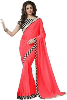 onlinefayda Embriodered Daily Wear Chiffon Sari