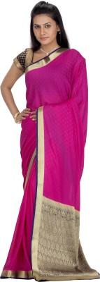 Srinidhi Silks Woven Fashion Crepe Sari