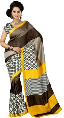 Ethnic Andaaz Self Design Fashion Art Silk, Cotton Sari