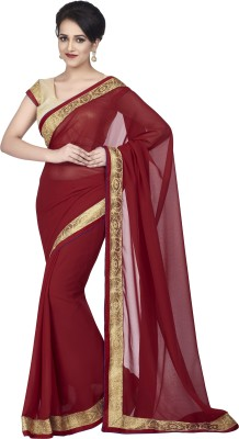 Hitansh Fashion Printed Fashion Chiffon Sari