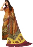Sthri Printed Bollywood Synthetic George...