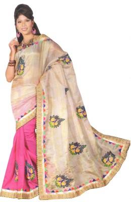 Panth Design Self Design Bhagalpuri Georgette Sari