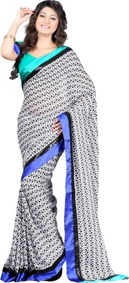 Budget Vastra Self Design Bollywood Georgette Sari