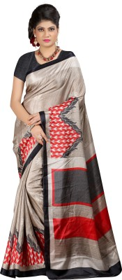 Adityadarshan Creation Printed Bhagalpuri Silk Sari
