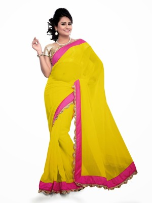 Nakhrali Designer Saree Embriodered Bollywood Chiffon Sari