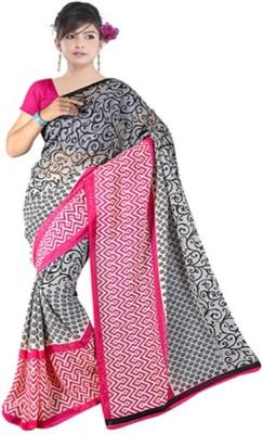 S.B Textiles Printed Daily Wear Georgette Sari
