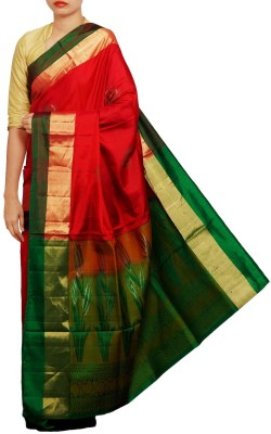 Unnati Silks Embellished Bollywood Pure Silk Sari