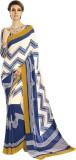 Craftswale Striped Daily Wear Georgette ...