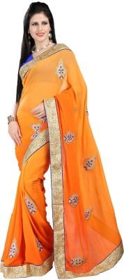 Rachaiyta Self Design Bollywood Georgette Sari