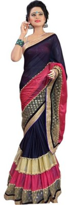 Vastrangam Self Design Fashion Lycra Sari