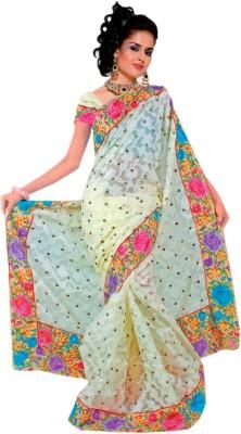 Sonika Creation Self Design Bollywood Brasso Sari