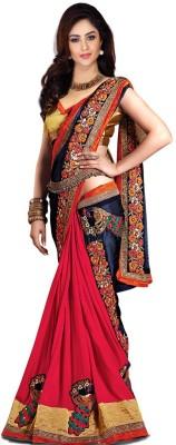 Suitsvilla Embriodered Fashion Georgette Sari